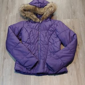 EUC QUILTED MATERIAL GIRL YOUTH SIZE XS